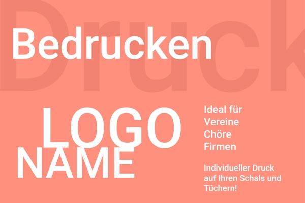 Halstuch mit Logo